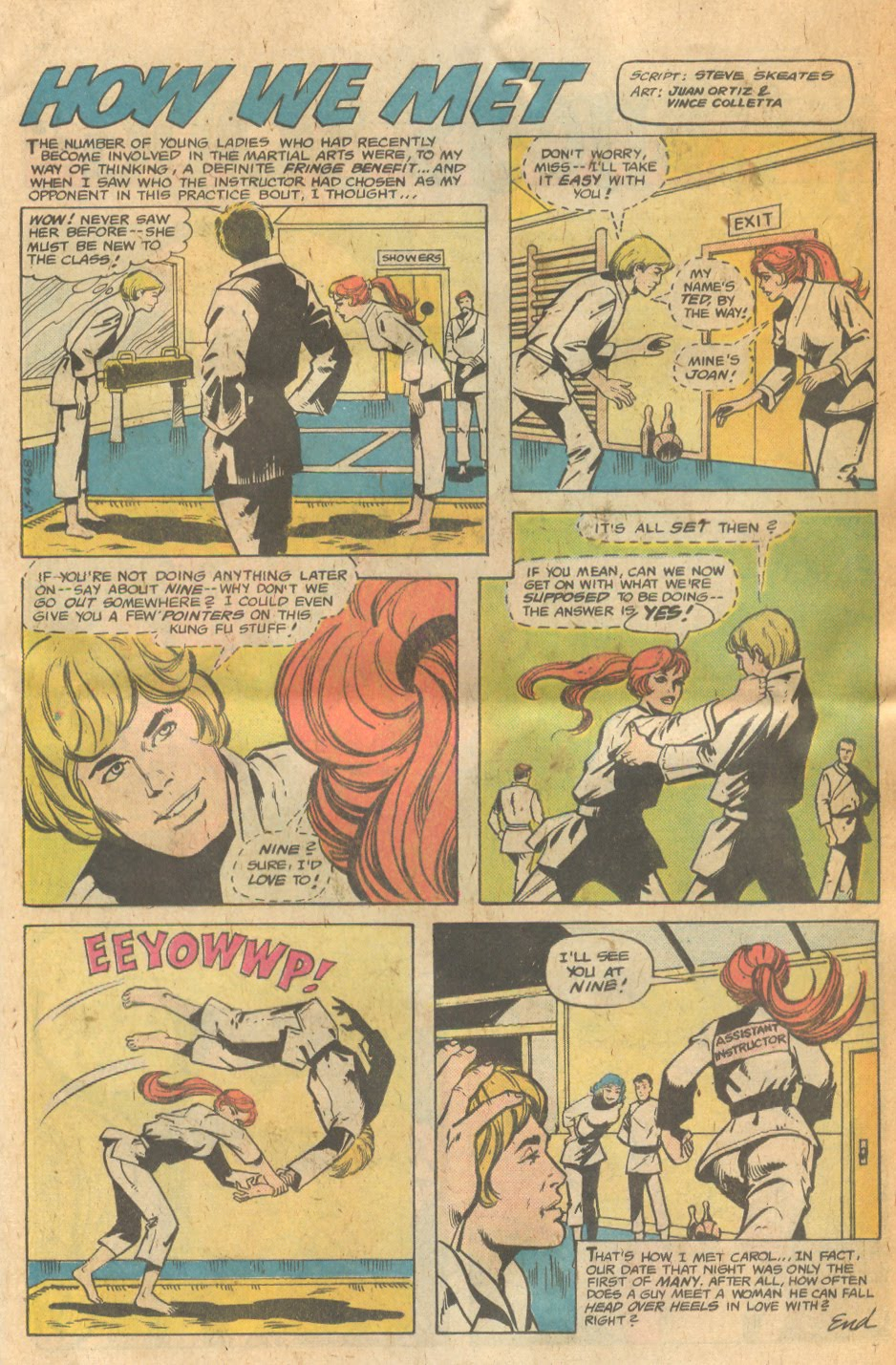 Stories of couples falling in love first time meeting romance love comics