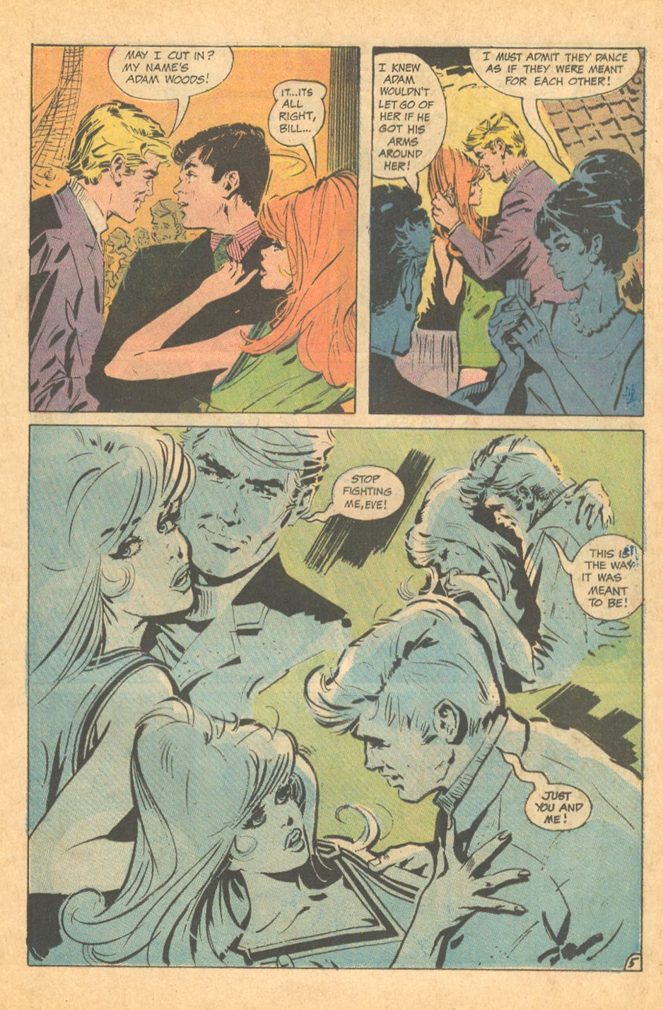 British illustrator Frank Langford American romance comic books DC Comics