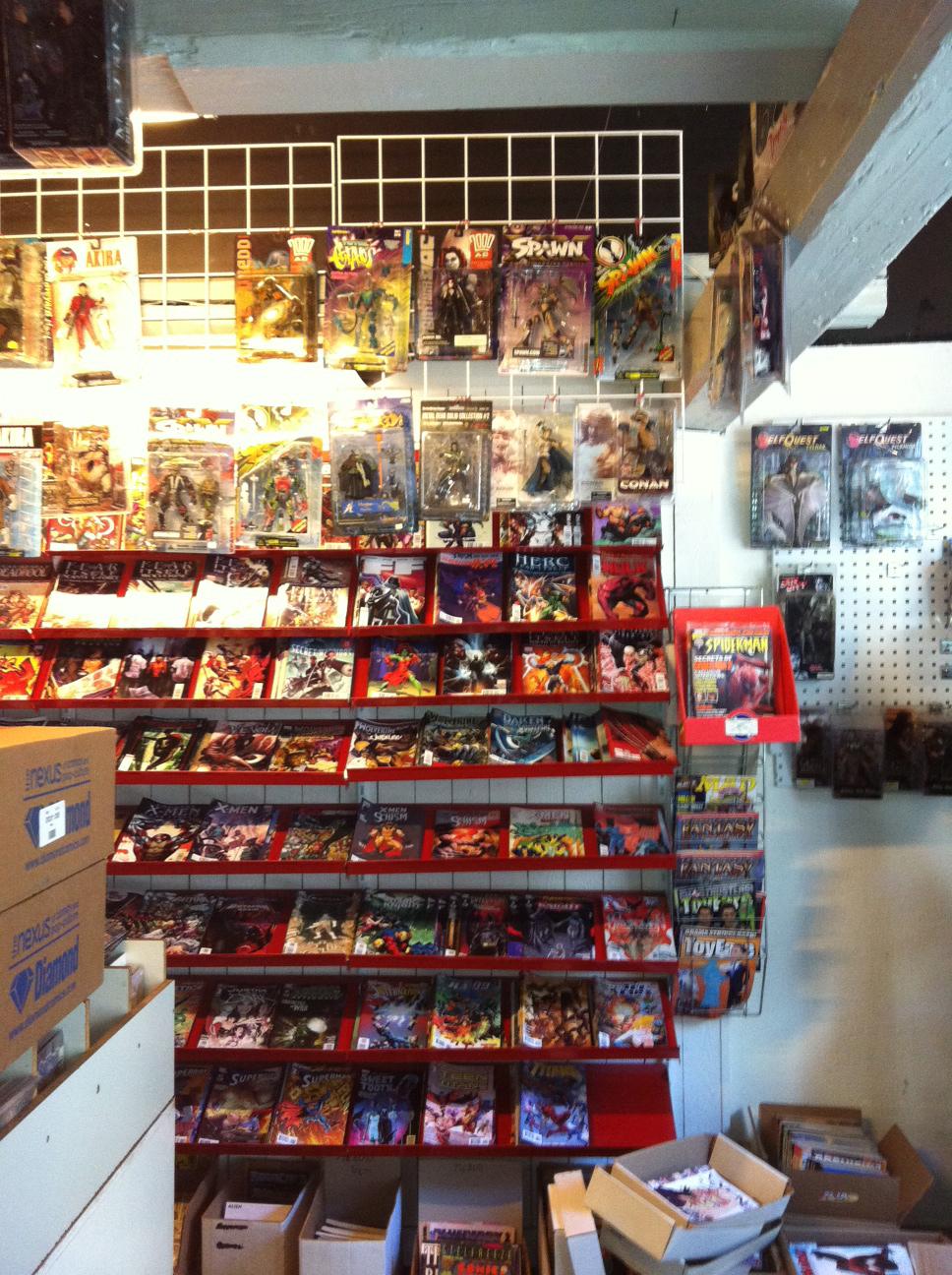 Danish comic book store Aarhus Komics