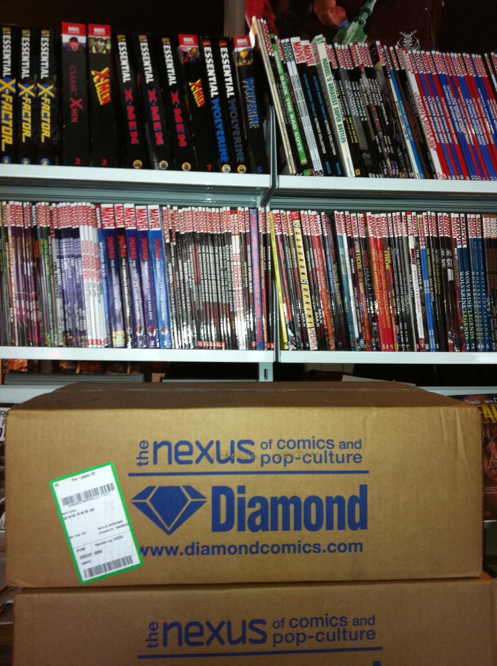 Danish comic book store Aarhus