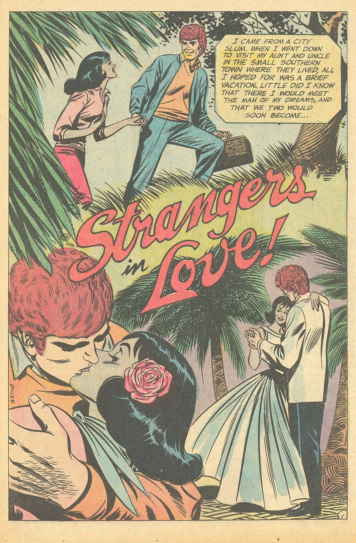 Interracial romance story young romance love stories DC comics