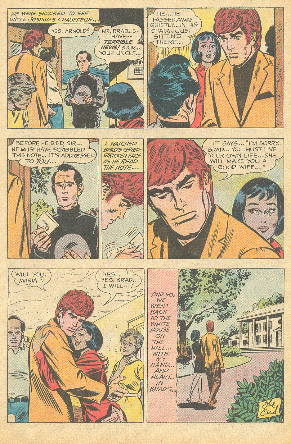 Interracial relationship romance West Side Story comic book