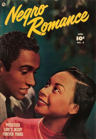 Negro Romance Fawcett comic book rare romance comics
