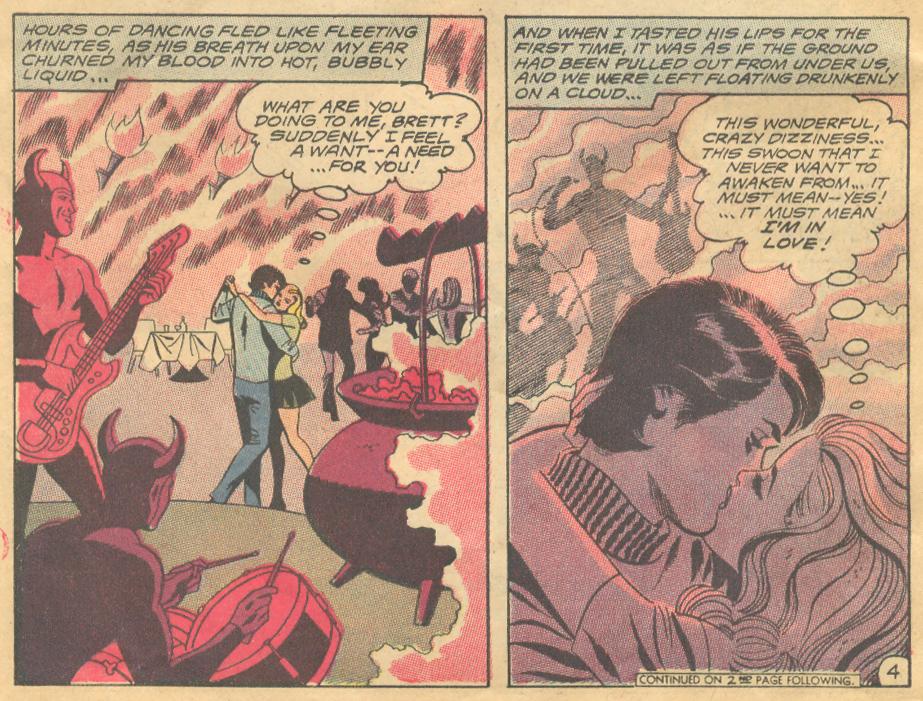 Too Spoiled for Love romance comic book story DC Comics