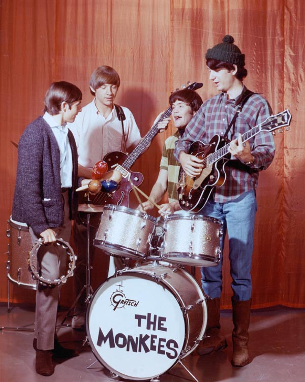 The Monkees advertisements in Romance comic books