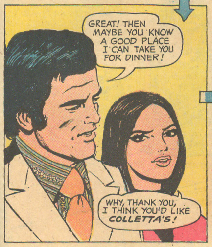"""Don't Steal My Love""  Falling in Love  #131 (April 1972) Pencils: Win Mortimer"