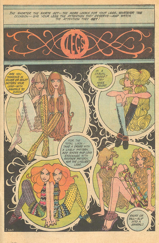 """Legs"" Illustrated by ""Elizabeth""  Girls' Love Stories  #150 (April 1970)"