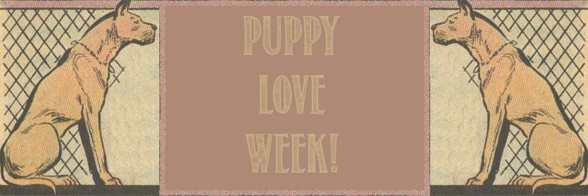 Puppy love week dogs in comic books romance