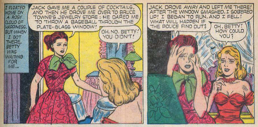 "Ace ""Impulsive!""  Love Experiences  #18 (April 1953)"