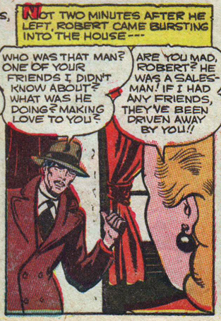 "Fox ""Quicksand Romance""  My Secret Life  #25 (January 1950)"