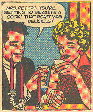 """I Hate You, Darling""  Love Romances  #54 (December 1955)"