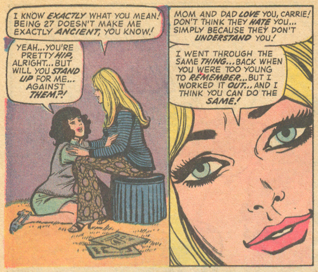 """Once Upon a Time... in My Heart!""  Our Love Story  #21 (February 1973)Script: Joy Jackson, Pencils: Jim Mooney, Inks: Ernie Chua"