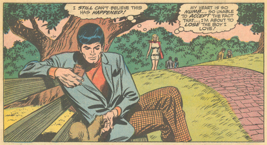 """""""We'll Never Meet Again!""""  Our Love Story  #2 (December 1969)"""