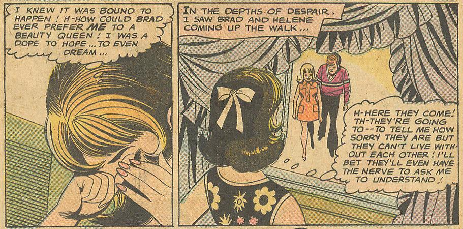 Win Mortimer and Jack Abel romance comic book story DC Comics