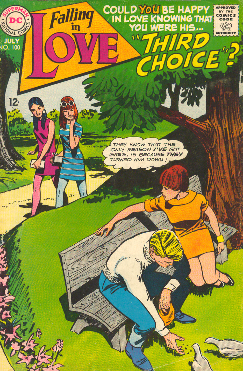 Falling in Love  #100 (July 1968)