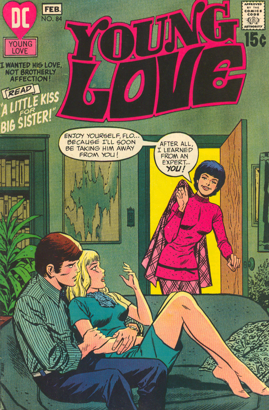 Young Love  #84 (January/February 1971)