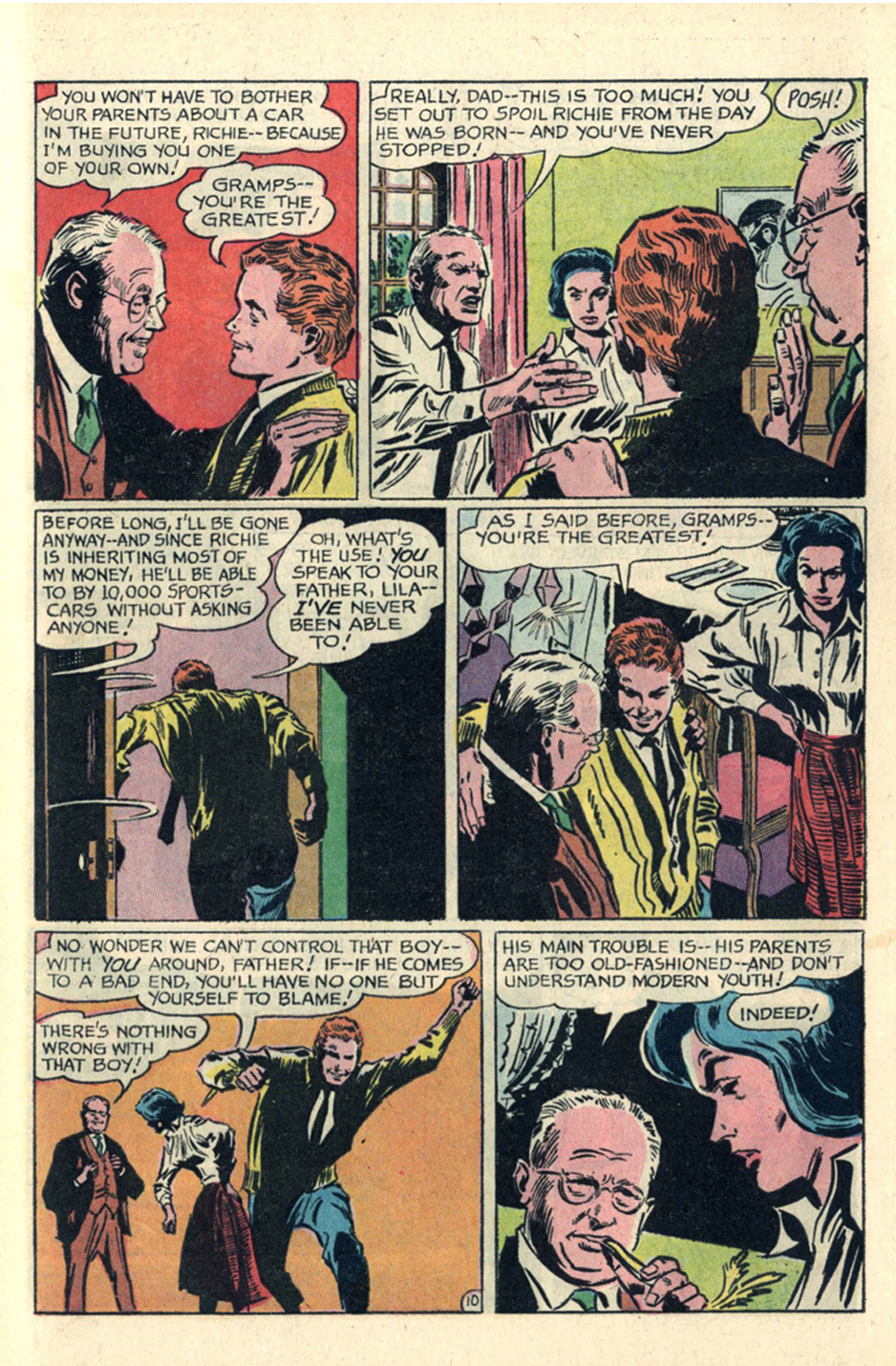 Secret Hearts Reach for Happiness Episode Gene Colan romance comic book adaptation of Peyton Place long-running soap opera