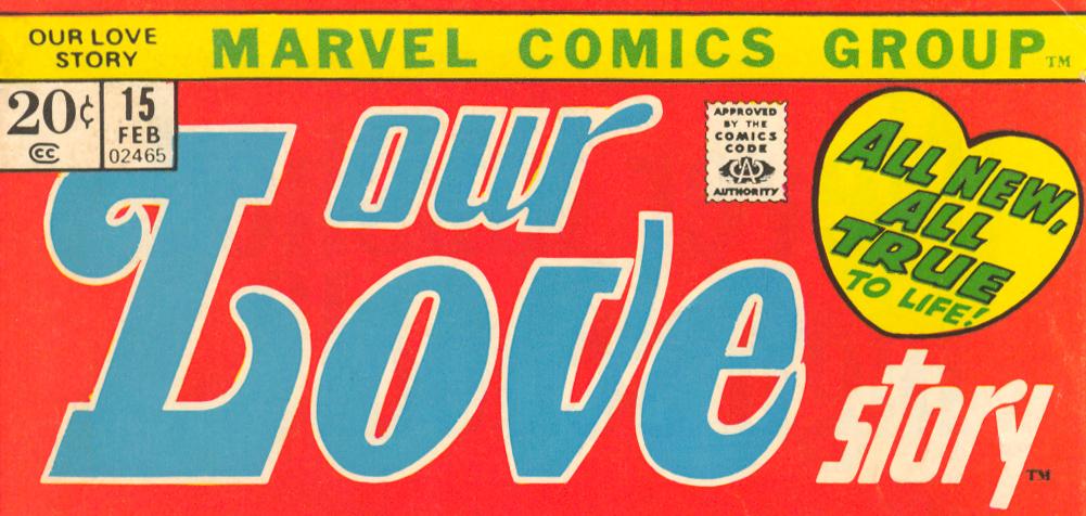 Women's Movement in the romance comic comics Marvel DC Charlton