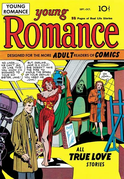 Young Romance #1 Simon and Kirby