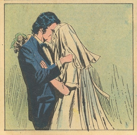 Just Married Charlton romance comic