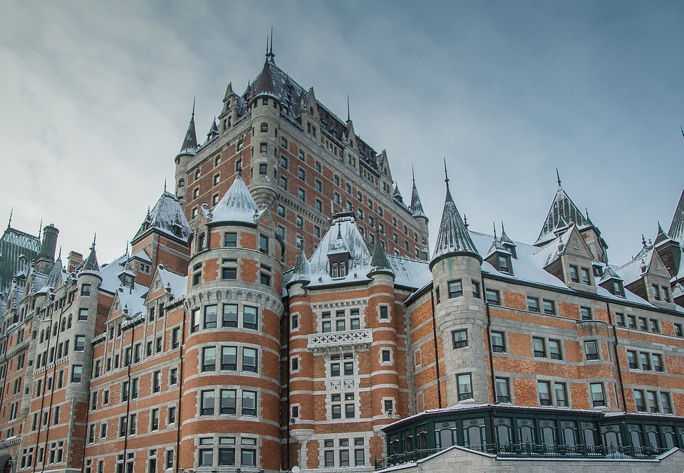 Chateau Frontenac, Quebec City - Photo Credit Jackmac34, Pixabay