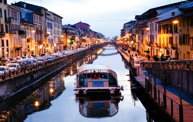Navigli District Canals