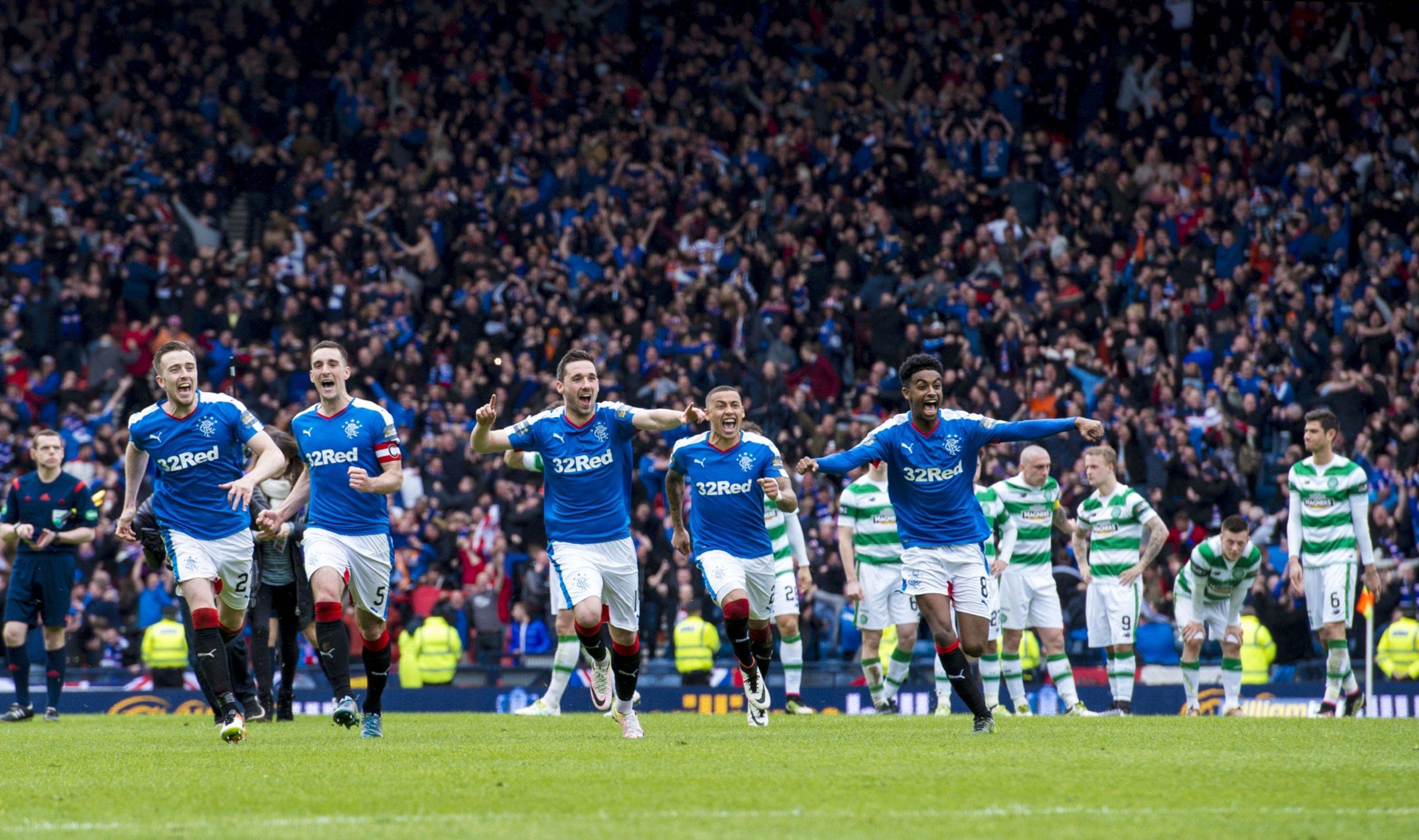 Celtic & Rangers Football Clubs