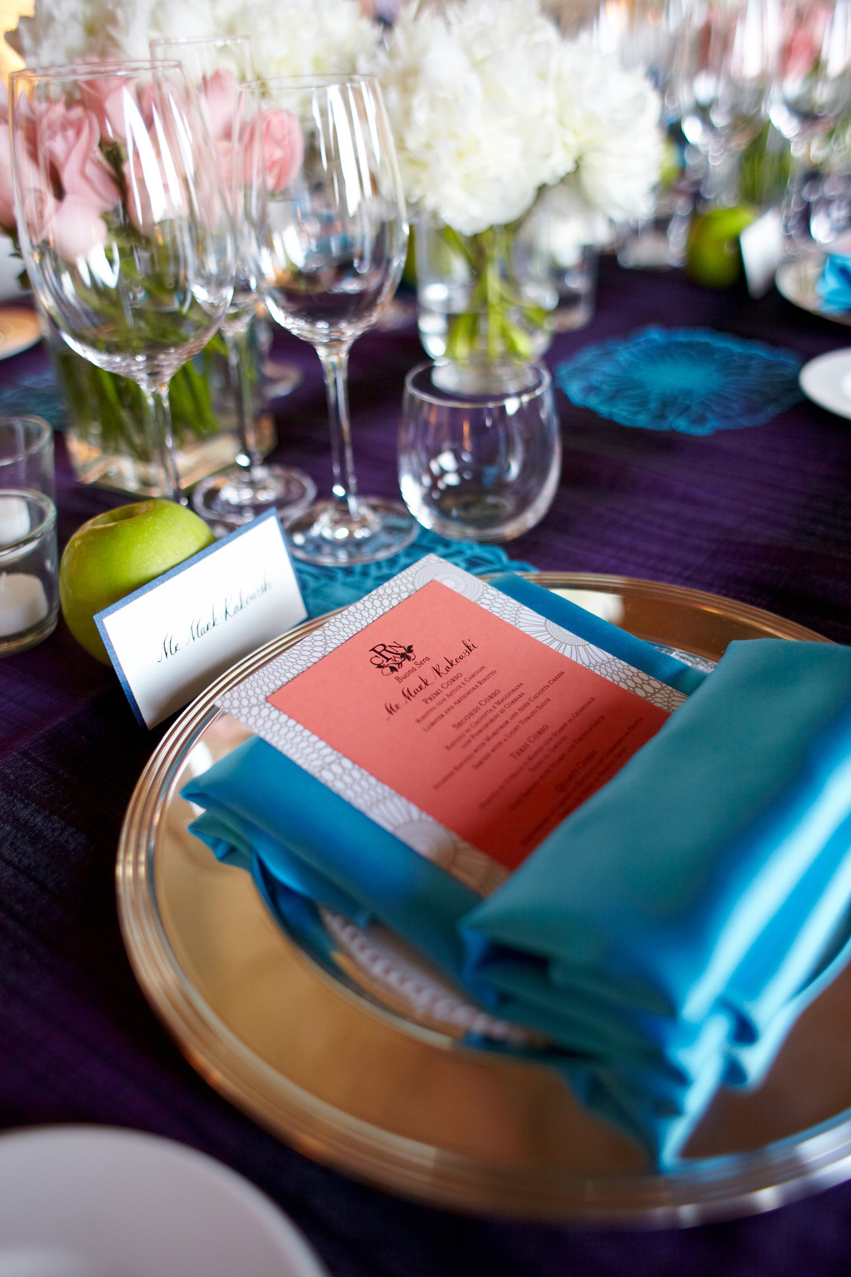 Stationary Details - Ravello, Italy - Summer Wedding - Julian Leaver Events