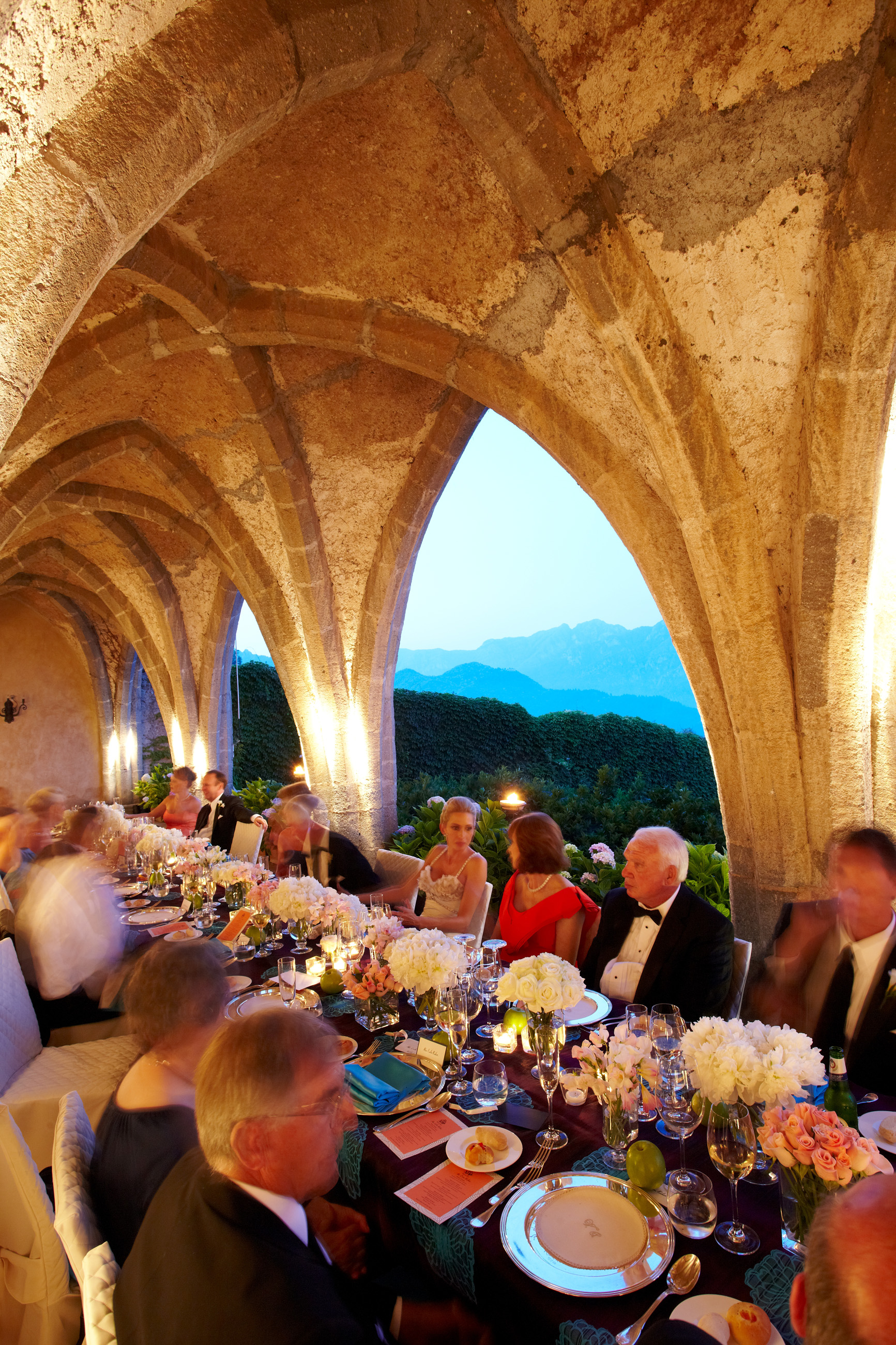 Reception Details - Ravello, Italy - Summer Wedding - Julian Leaver Events
