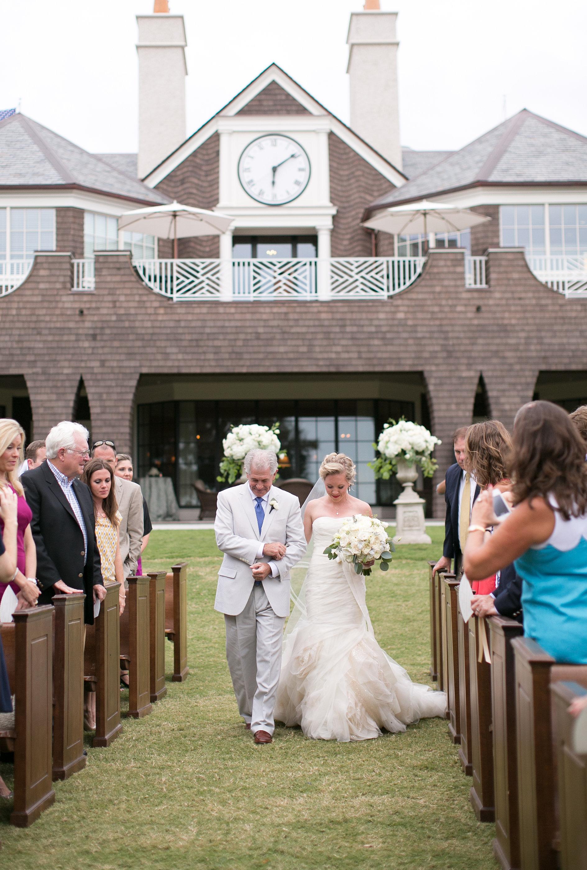 Ceremony Details - Kiawah Island, South Carolina - Fall Wedding - Julian Leaver Events