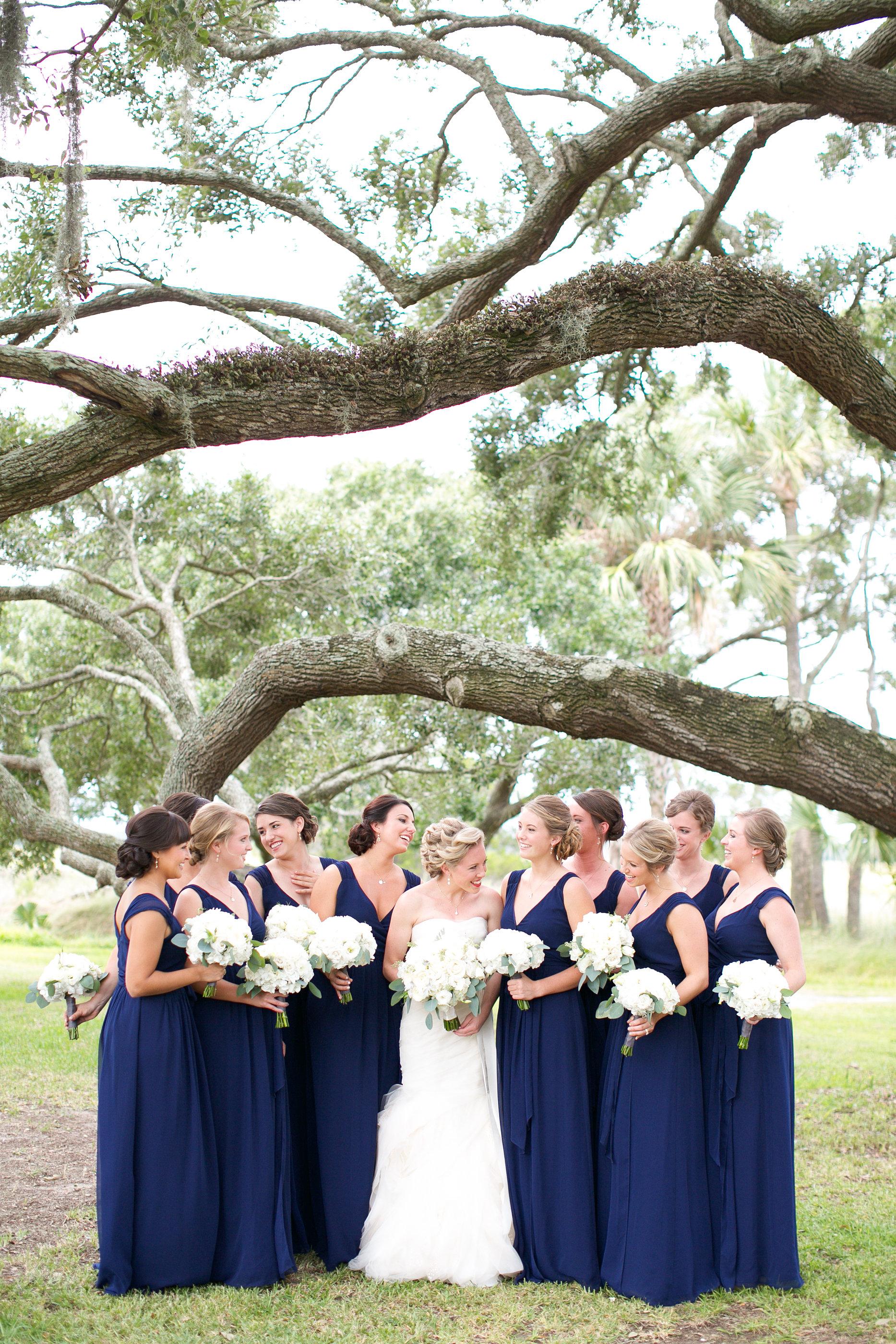 Bridesmaid Details - Kiawah Island, South Carolina - Fall Wedding - Julian Leaver Events