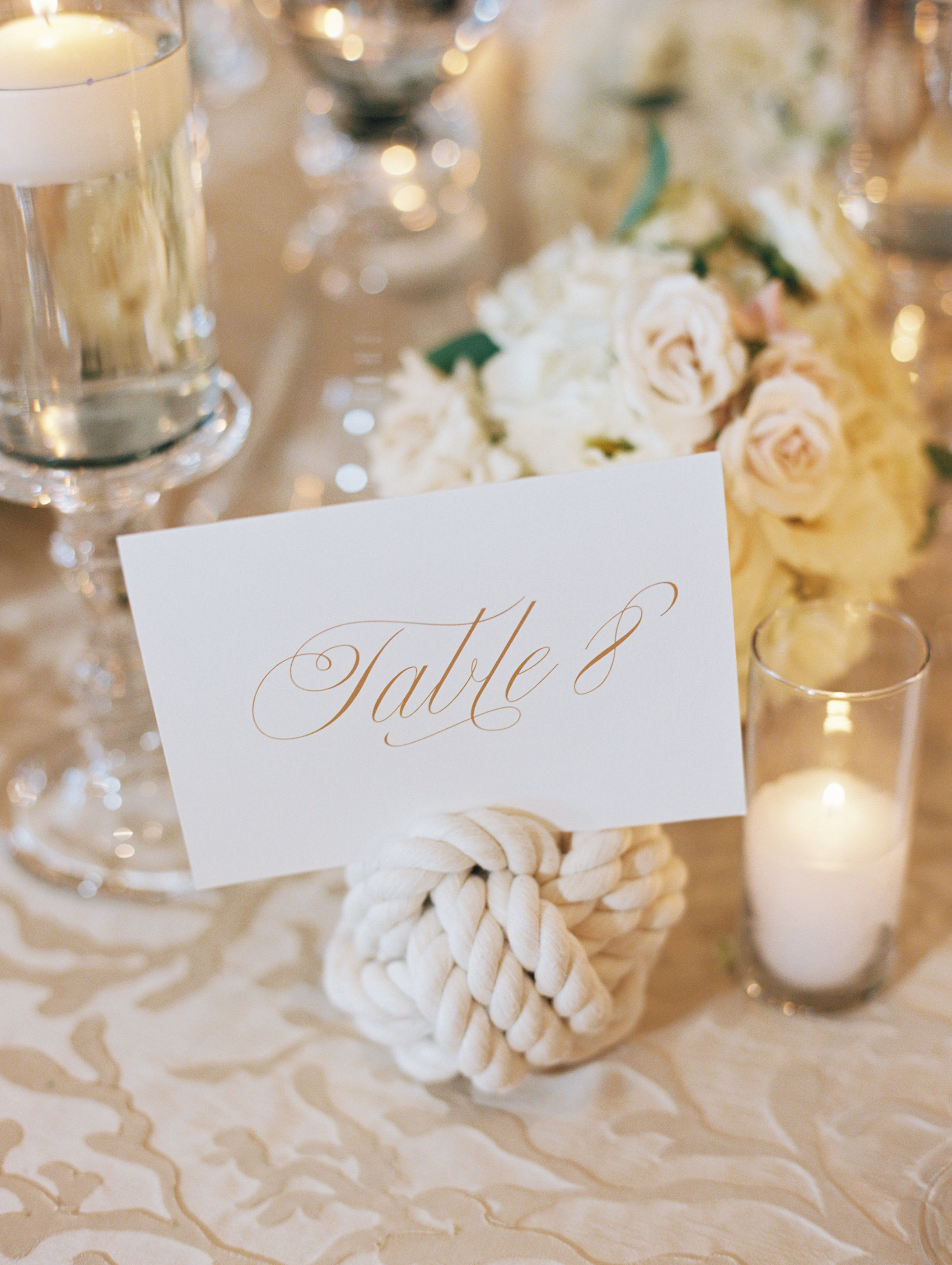 Stationary Details - Kiawah Island, South Carolina - Fall Wedding - Julian Leaver Events