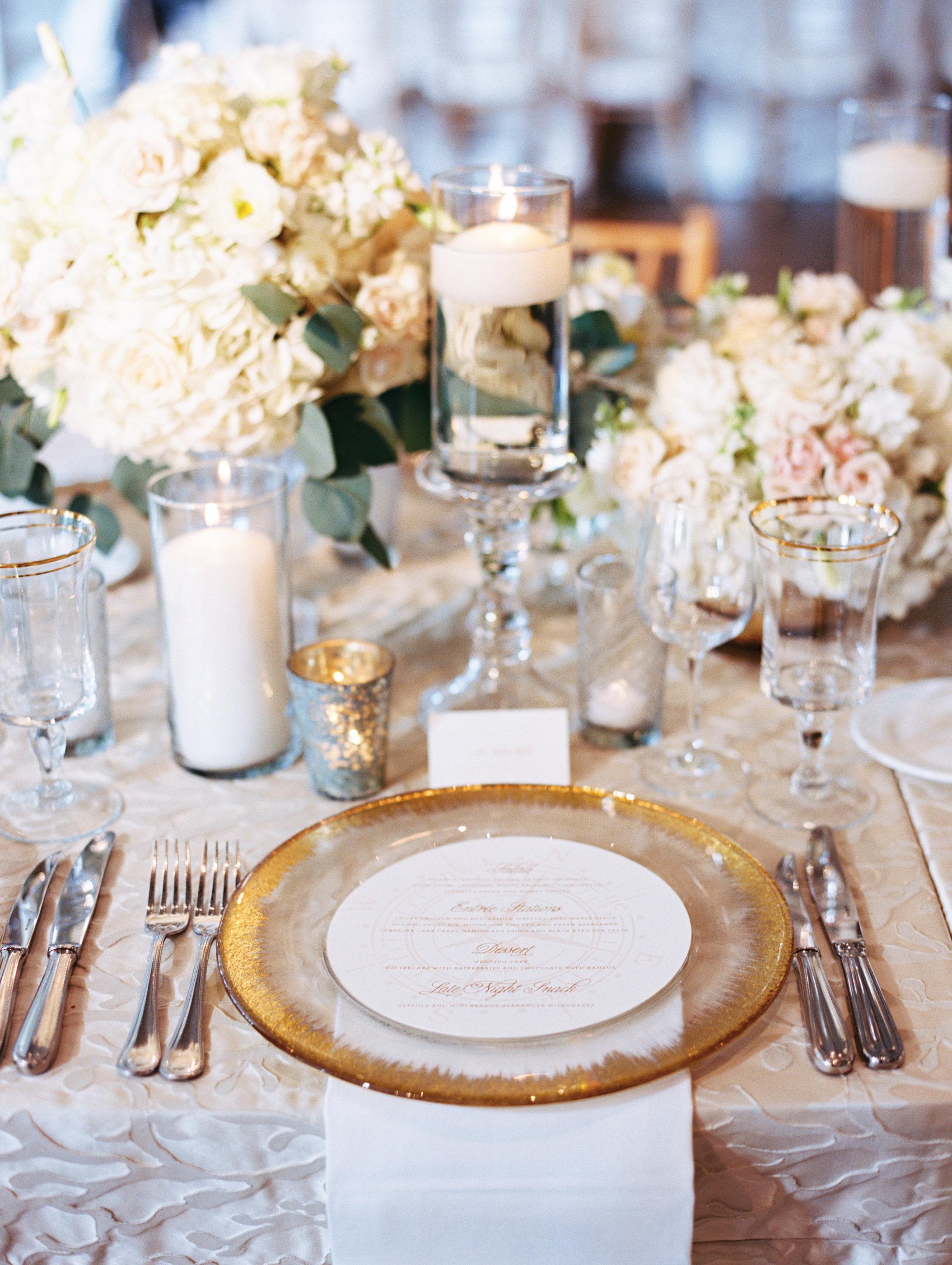 Tabletop Details - Kiawah Island, South Carolina - Fall Wedding - Julian Leaver Events