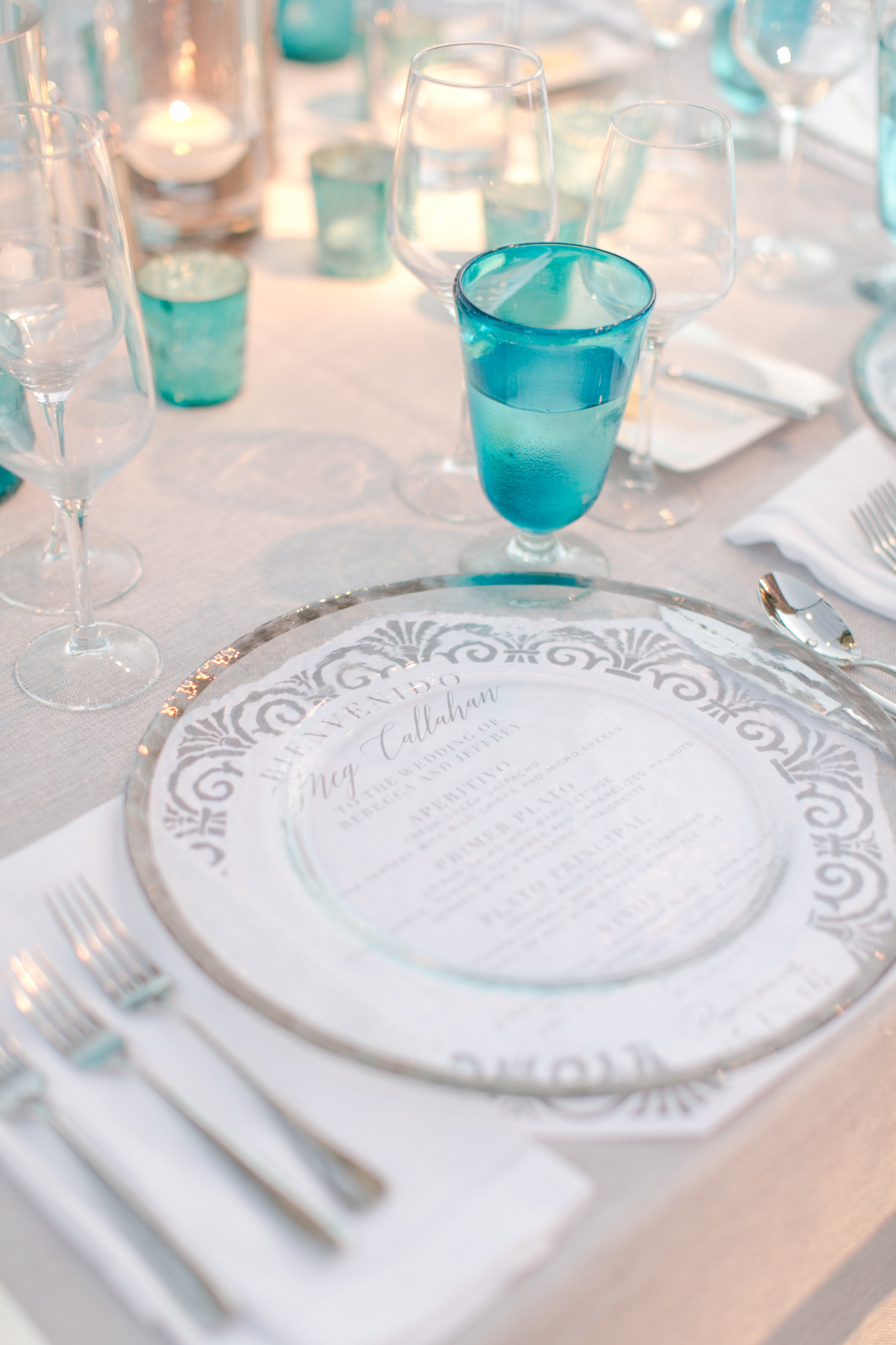 Tabletop Details - San Jose Del Cabo, Mexico - Spring Wedding - Julian Leaver Events