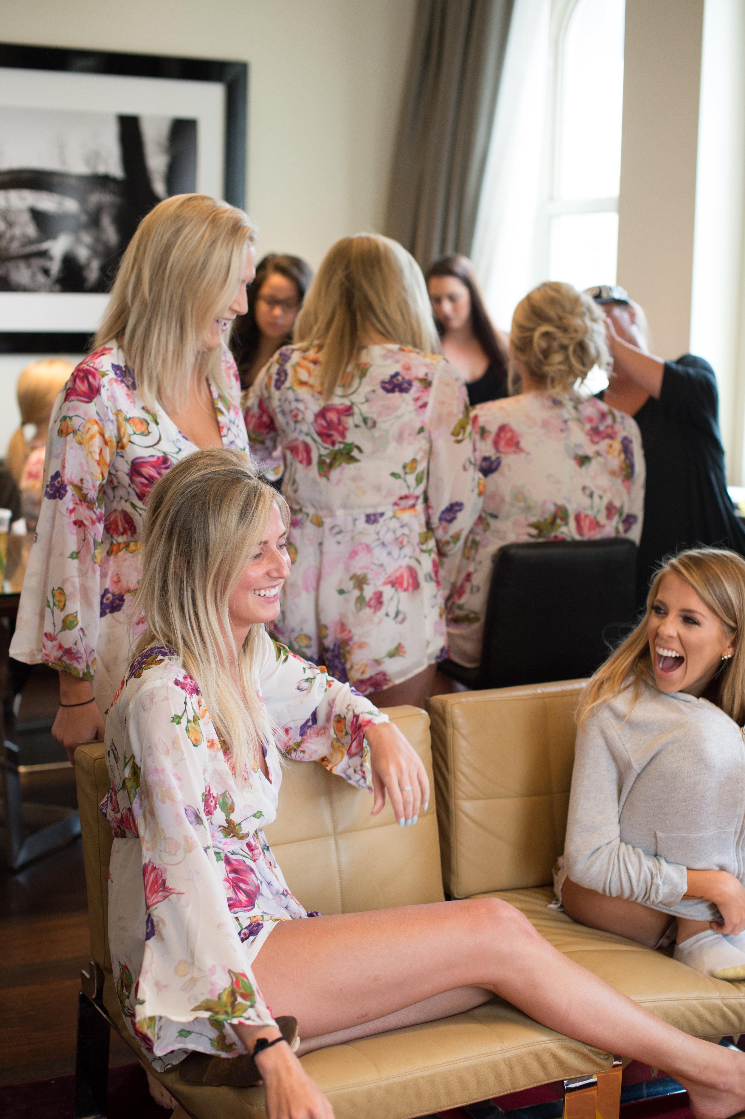 Bridesmaid Details - Dallas, Tx - Spring Wedding - Julian Leaver Events
