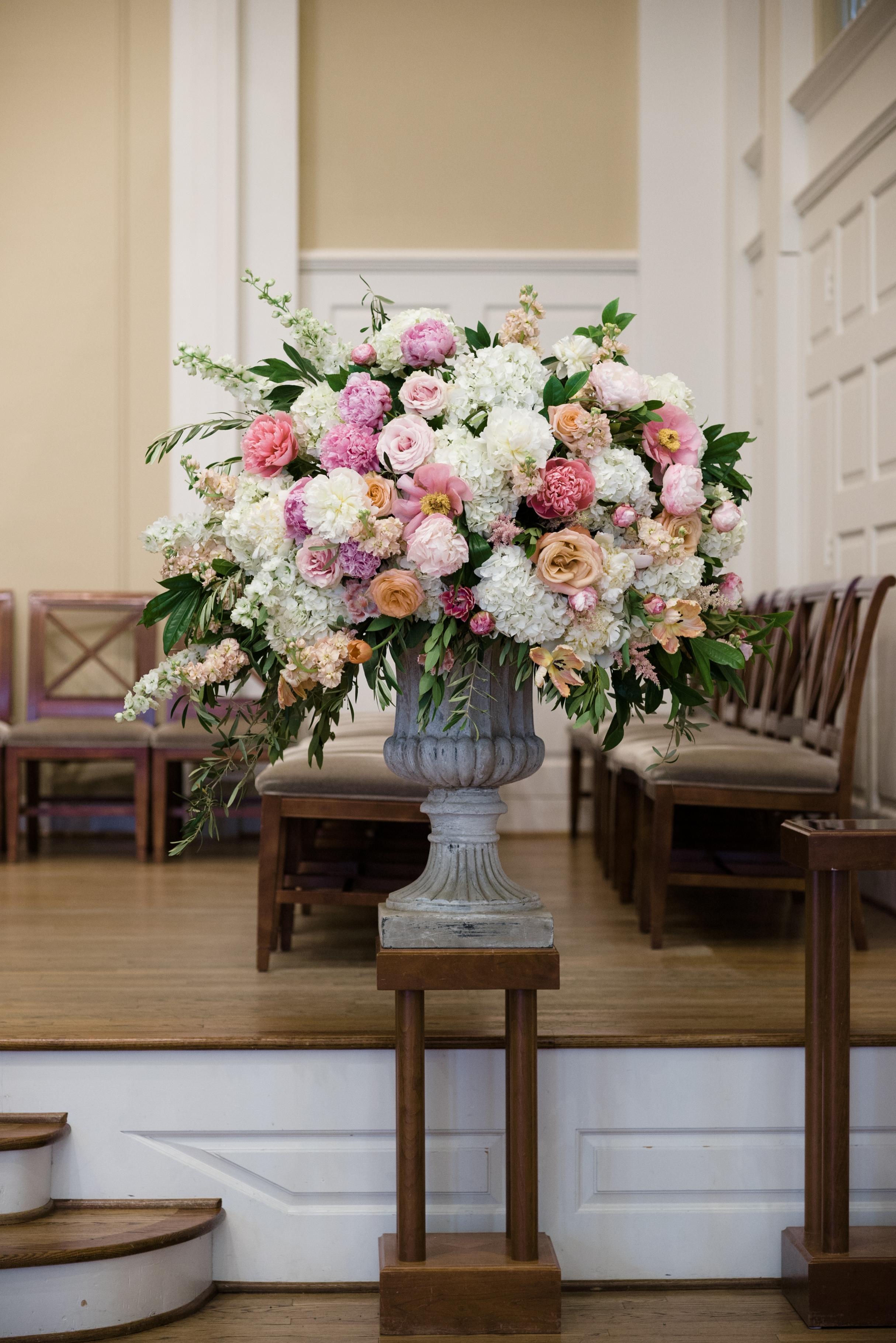 Flower Details - Dallas, Tx - Spring Wedding - Julian Leaver Events