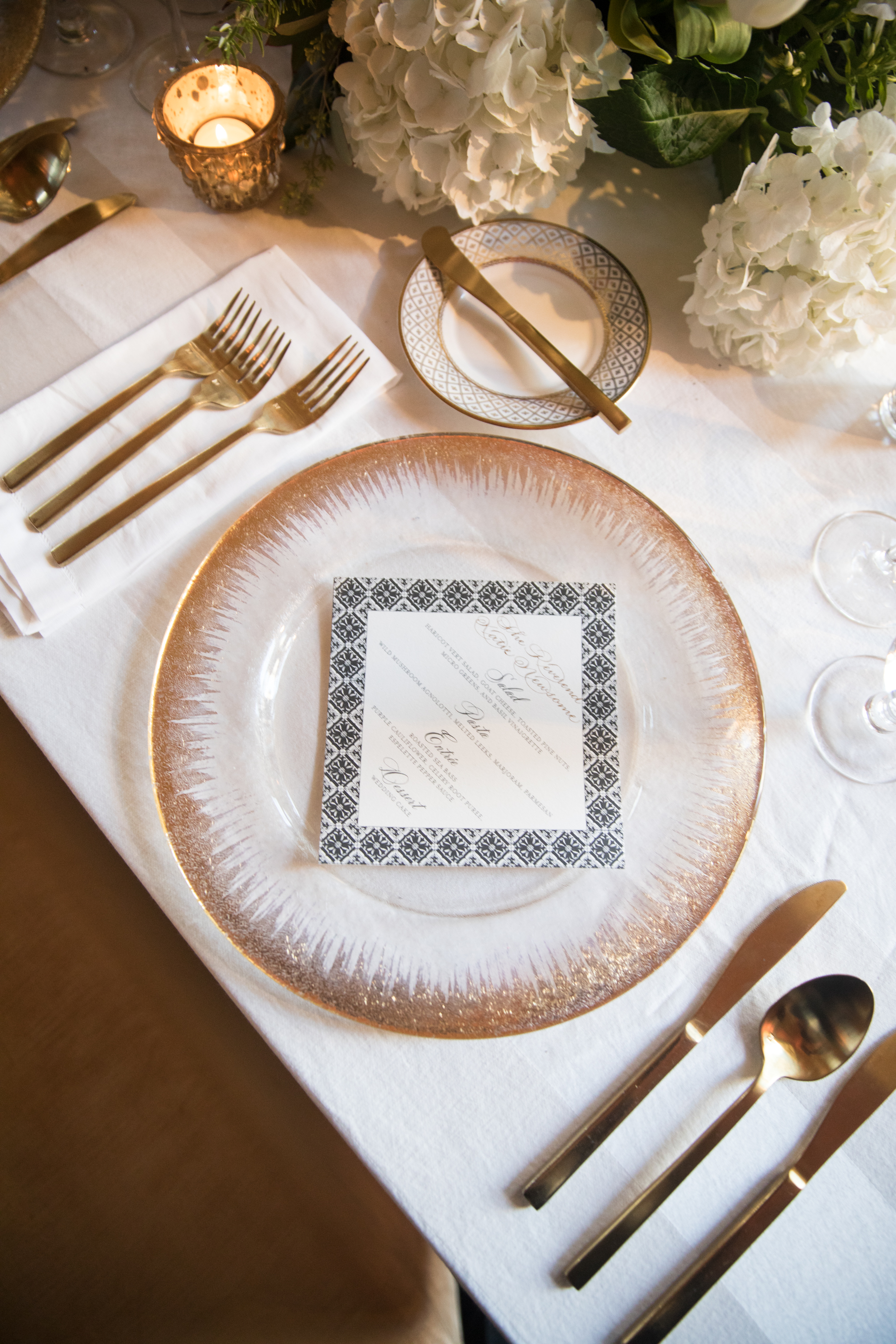 Tabletop Details - Dallas, Tx - Summer Wedding - Julian Leaver Events