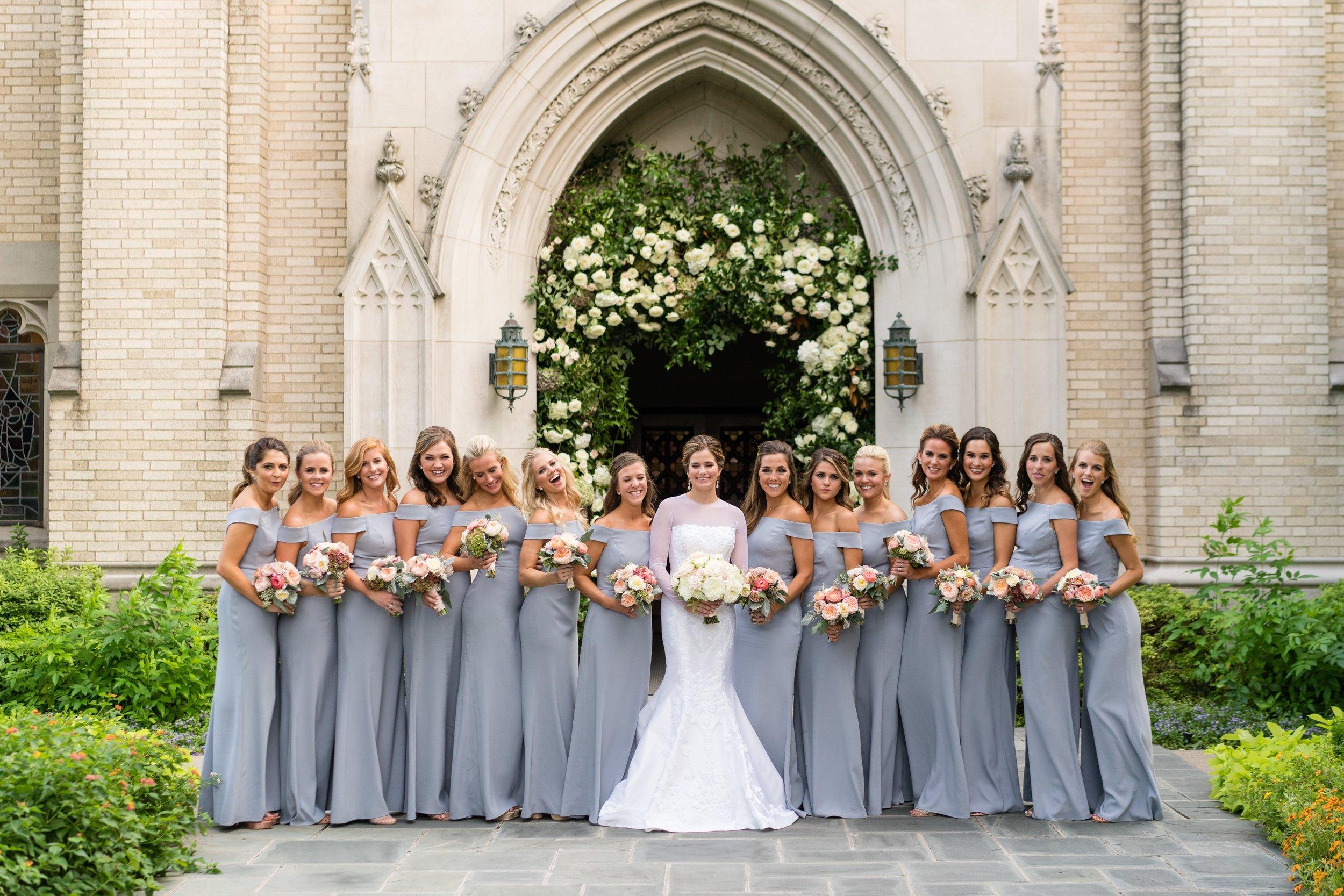 Bridesmaid Details - Dallas, Tx - Fall Wedding - Julian Leaver Events