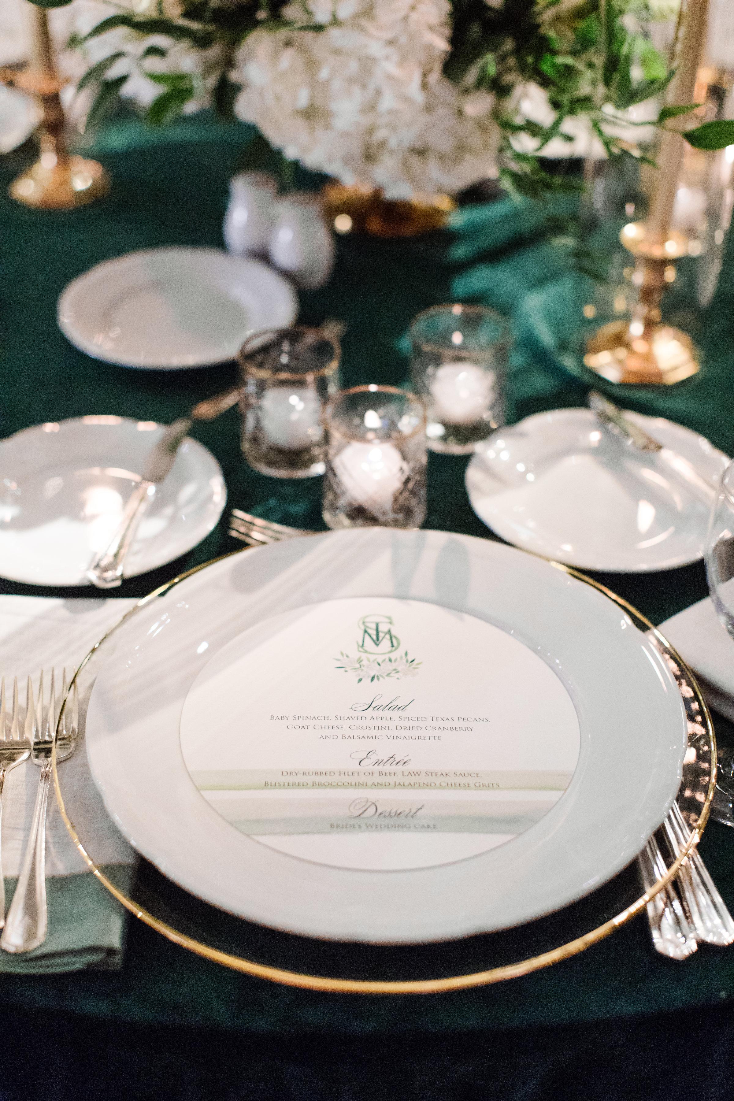 Stationary Details - Dallas, Tx - Fall Wedding - Julian Leaver Events
