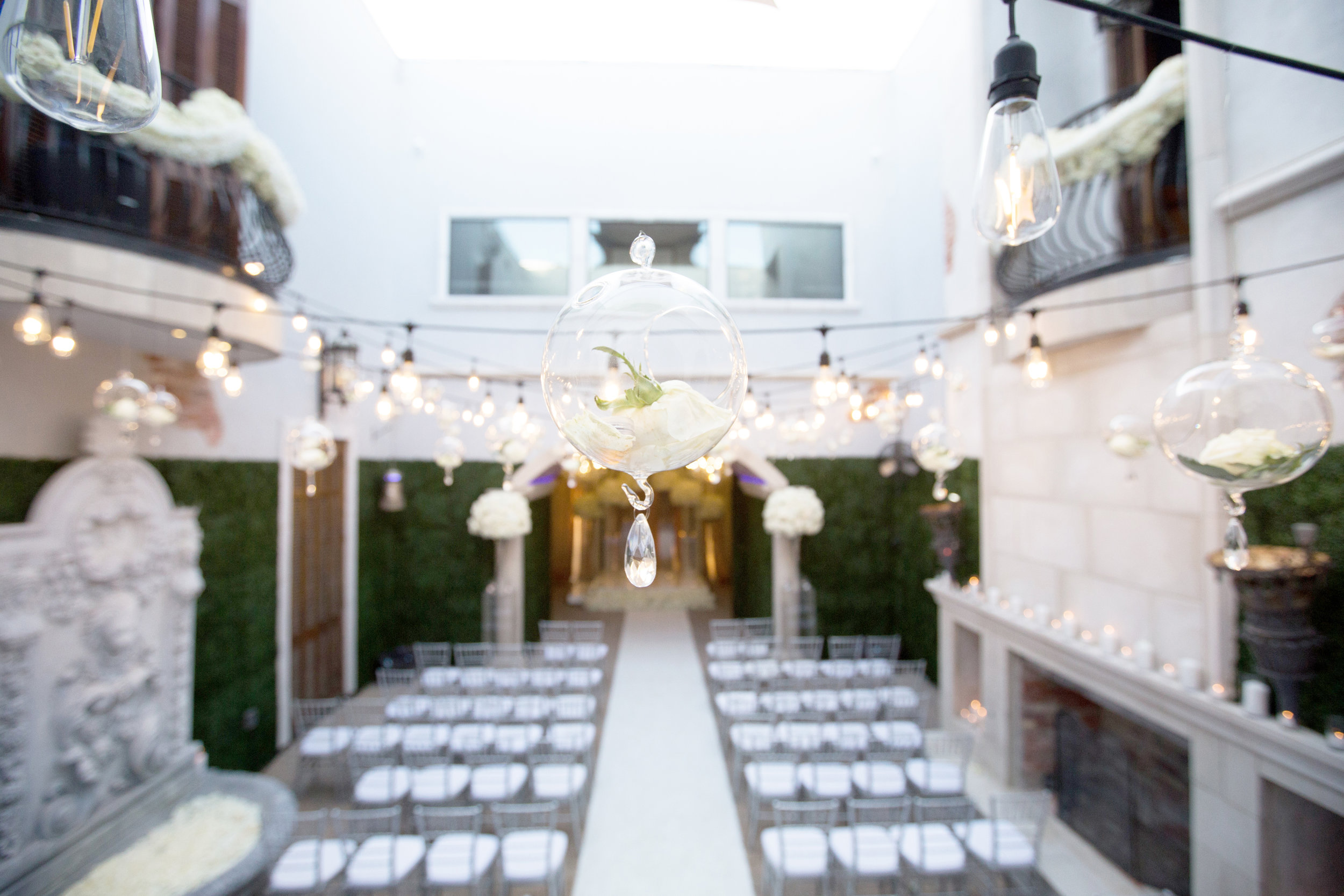Ceremony Details - Dallas, Tx - Fall Wedding - Julian Leaver Events