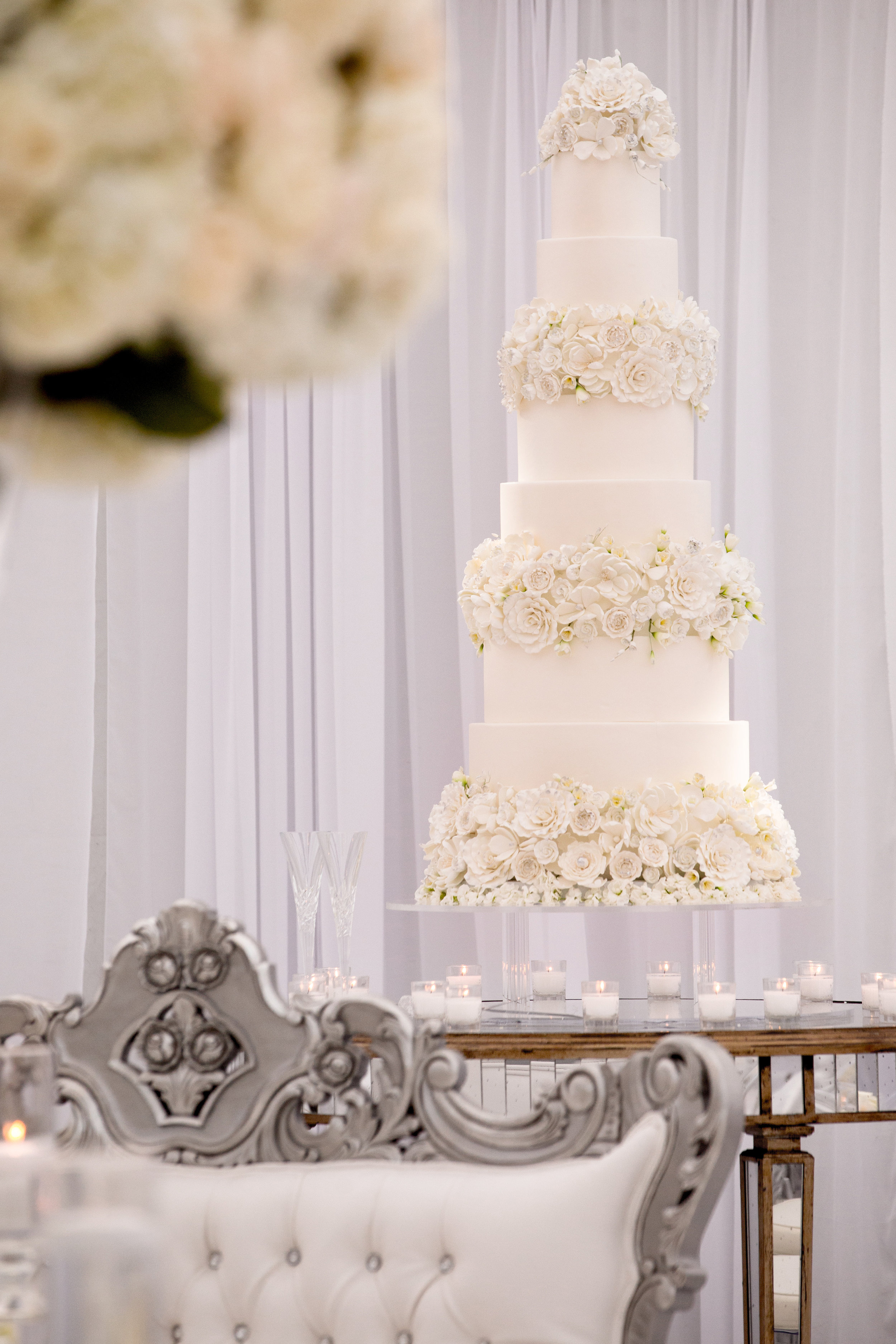 Cake Details - Dallas, Tx - Fall Wedding - Julian Leaver Events