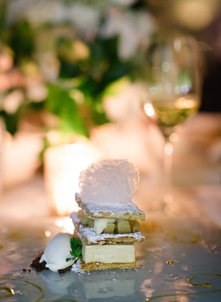 Cake Details - Castello Di Casole, Italy - Summer Wedding - Julian Leaver Events