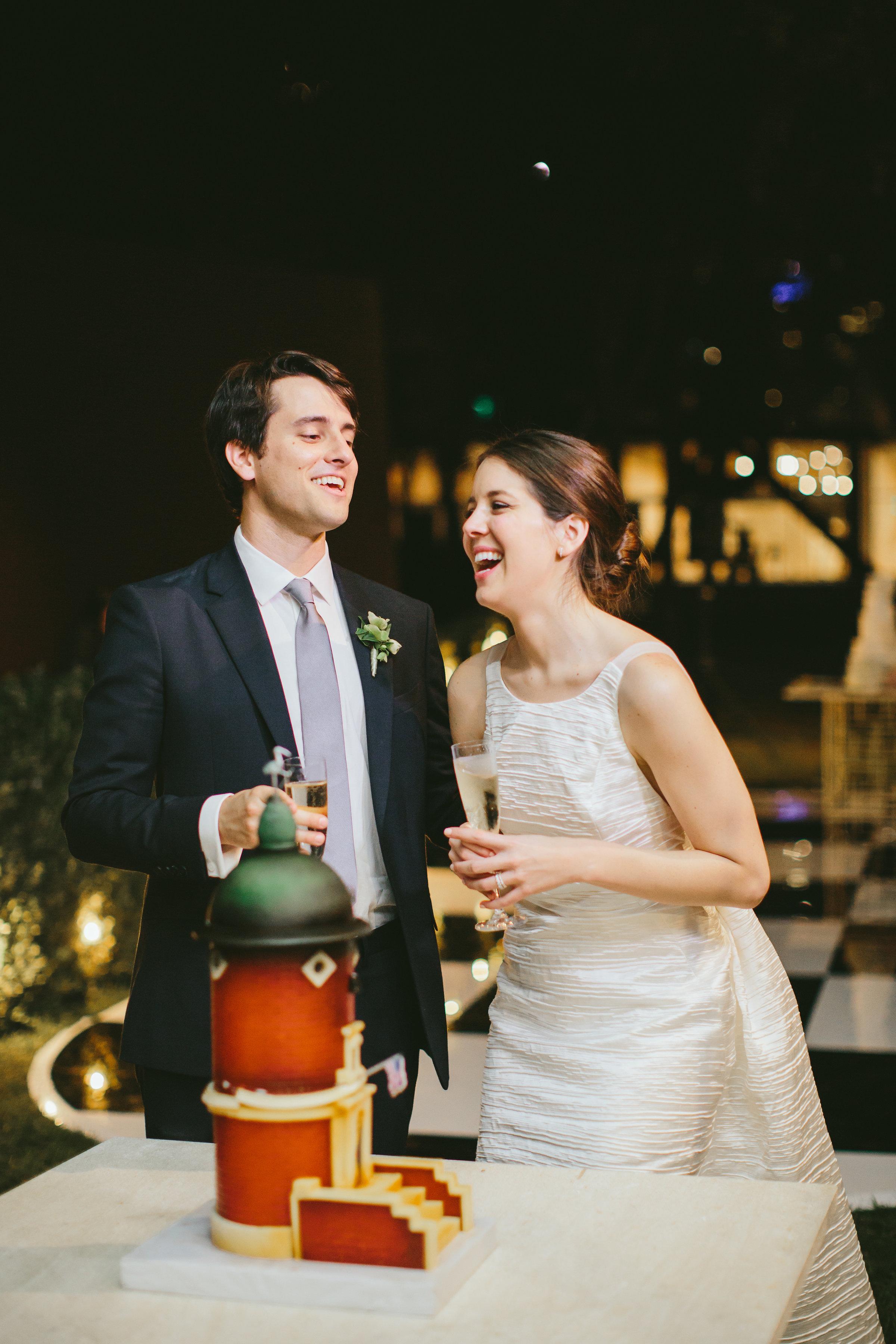 Cake Details - Dallas, TX - Fall Wedding - Julian Leaver Events