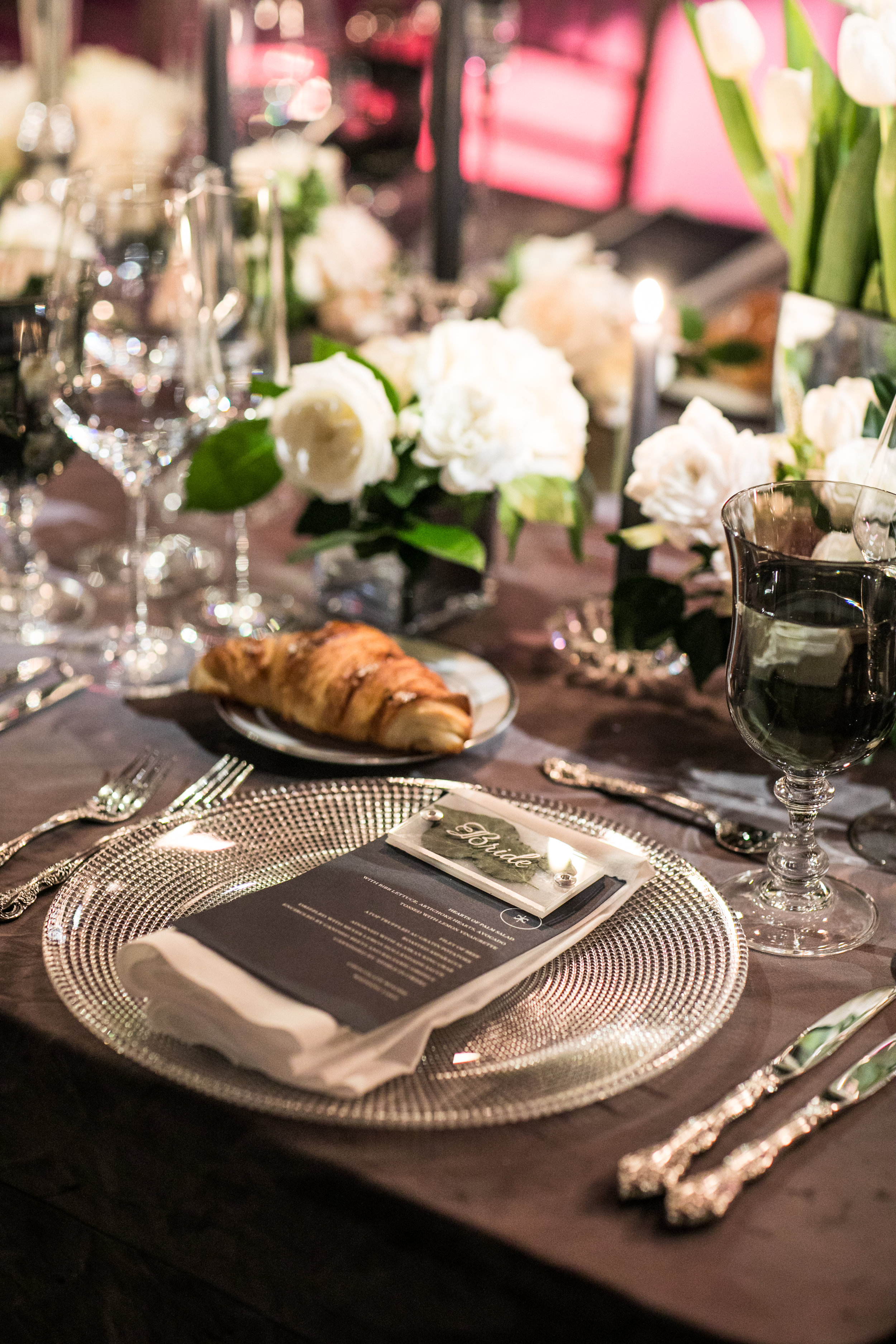 Tabletop Details - Amarillo, Texas - Fall Wedding - Julian Leaver Events