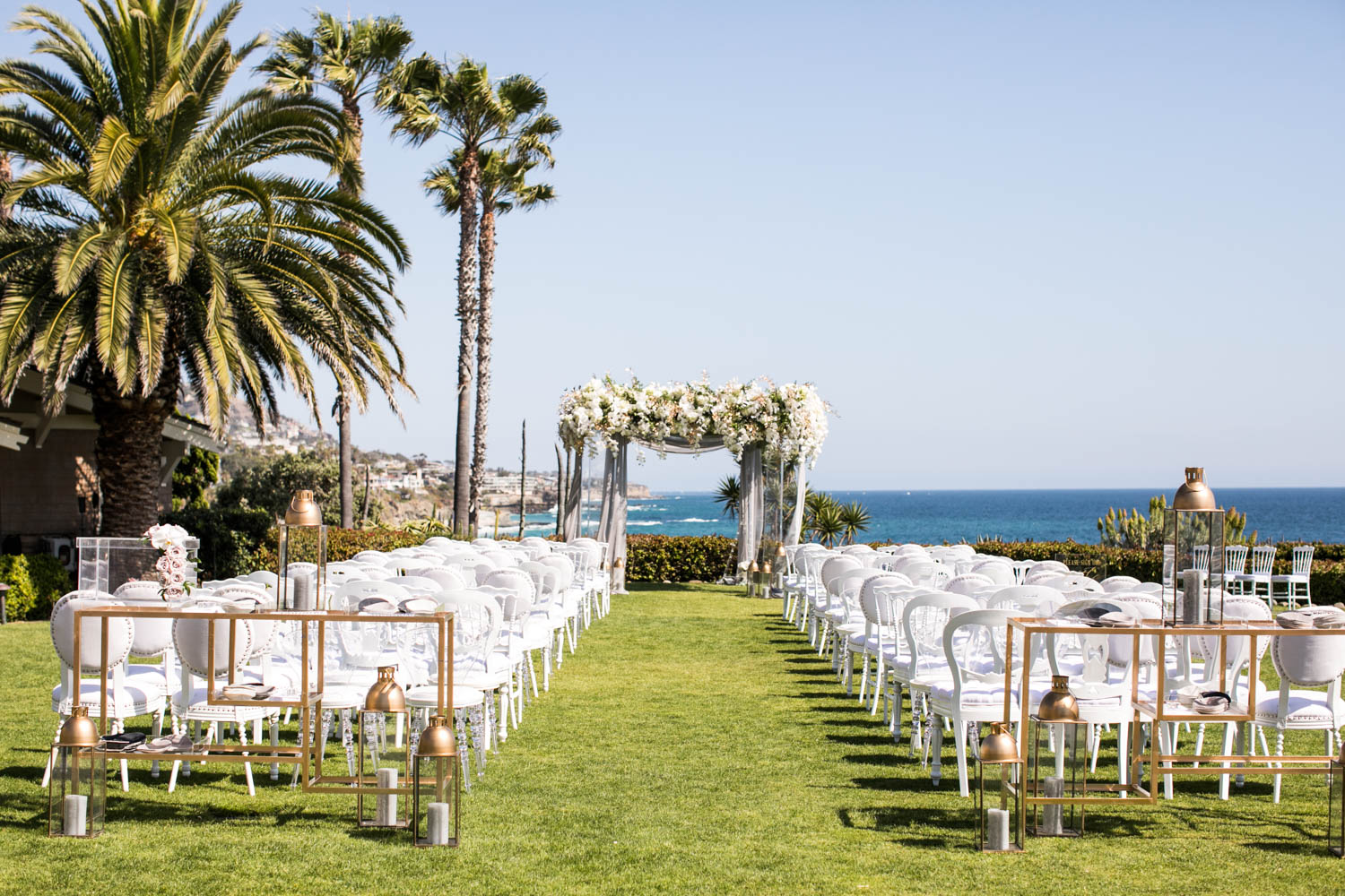 A Summer Oceanside Wedding at Montage Laguna in Laguna Beach, California