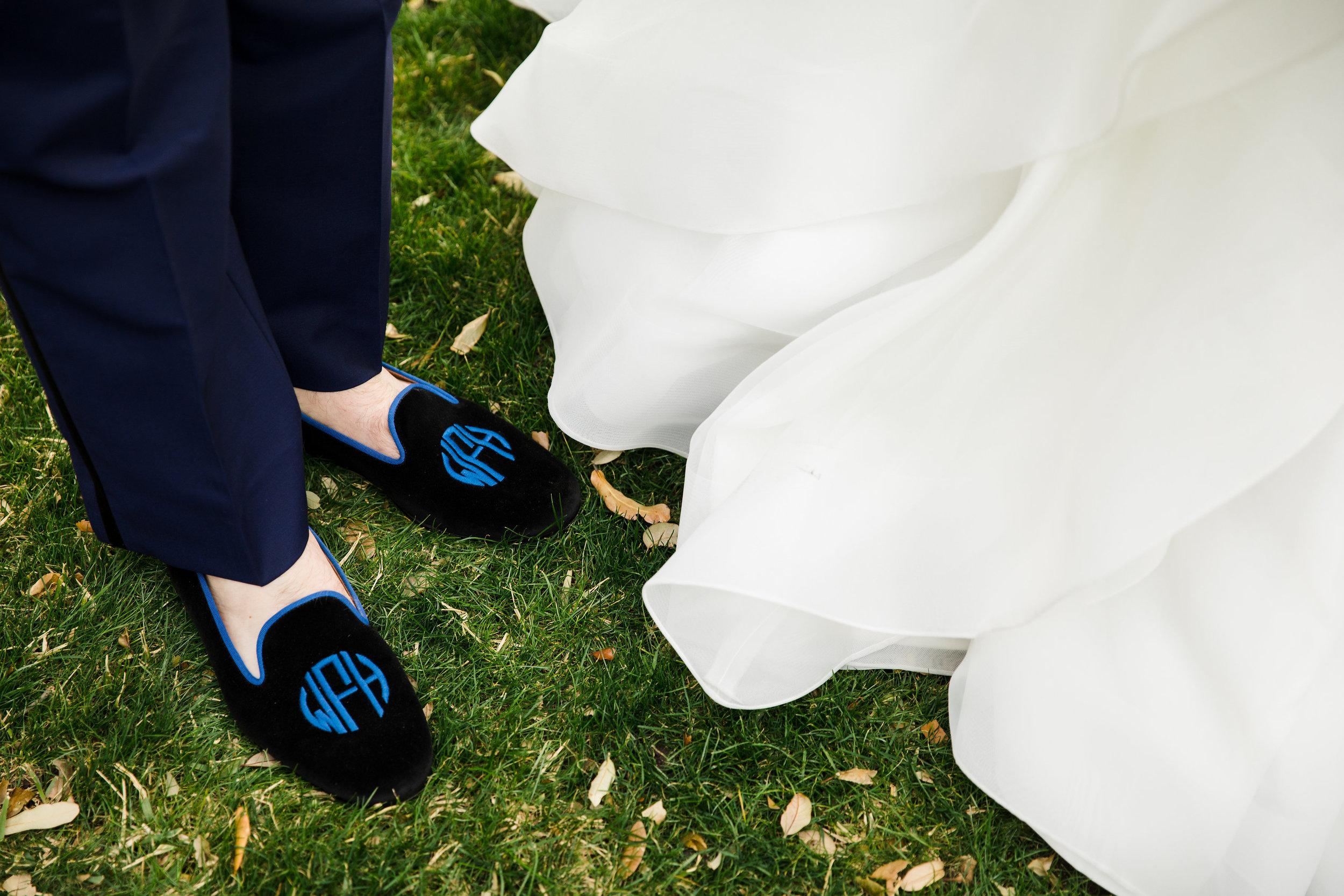Attire Details - Dallas, Texas - Winter Wedding - Julian Leaver Events