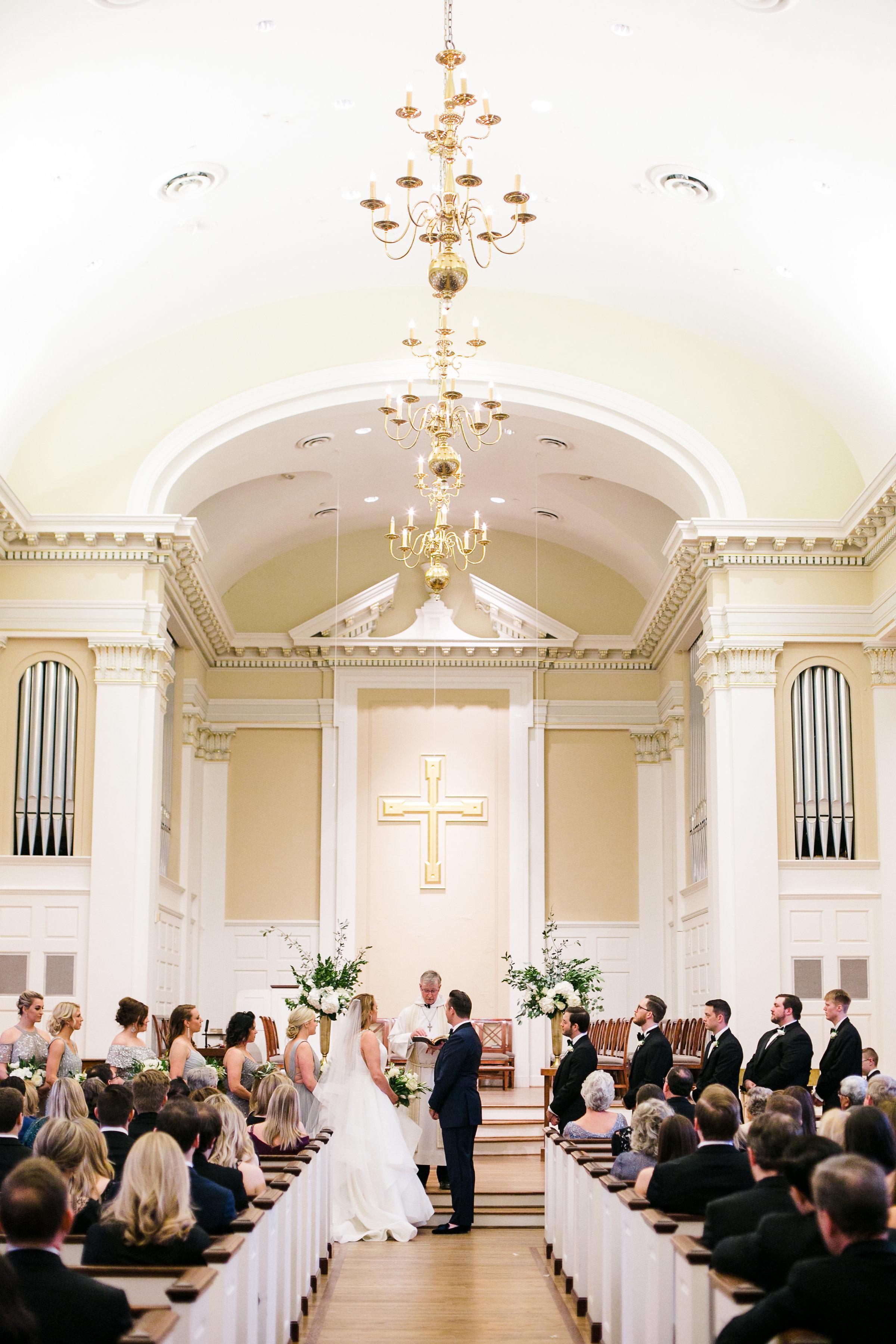 Ceremony Details - Dallas, Texas - Winter Wedding - Julian Leaver Events