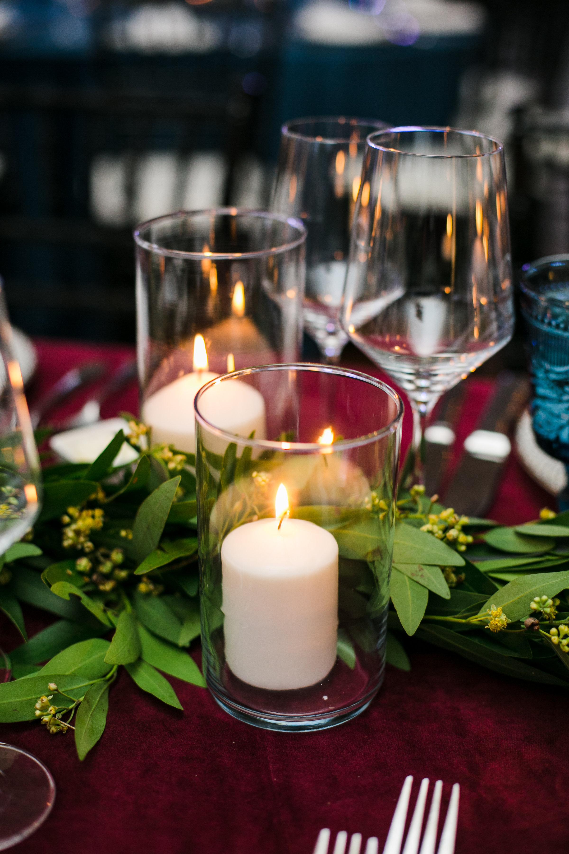 Tabletop Details - Dallas, Texas - Winter Wedding - Julian Leaver Events