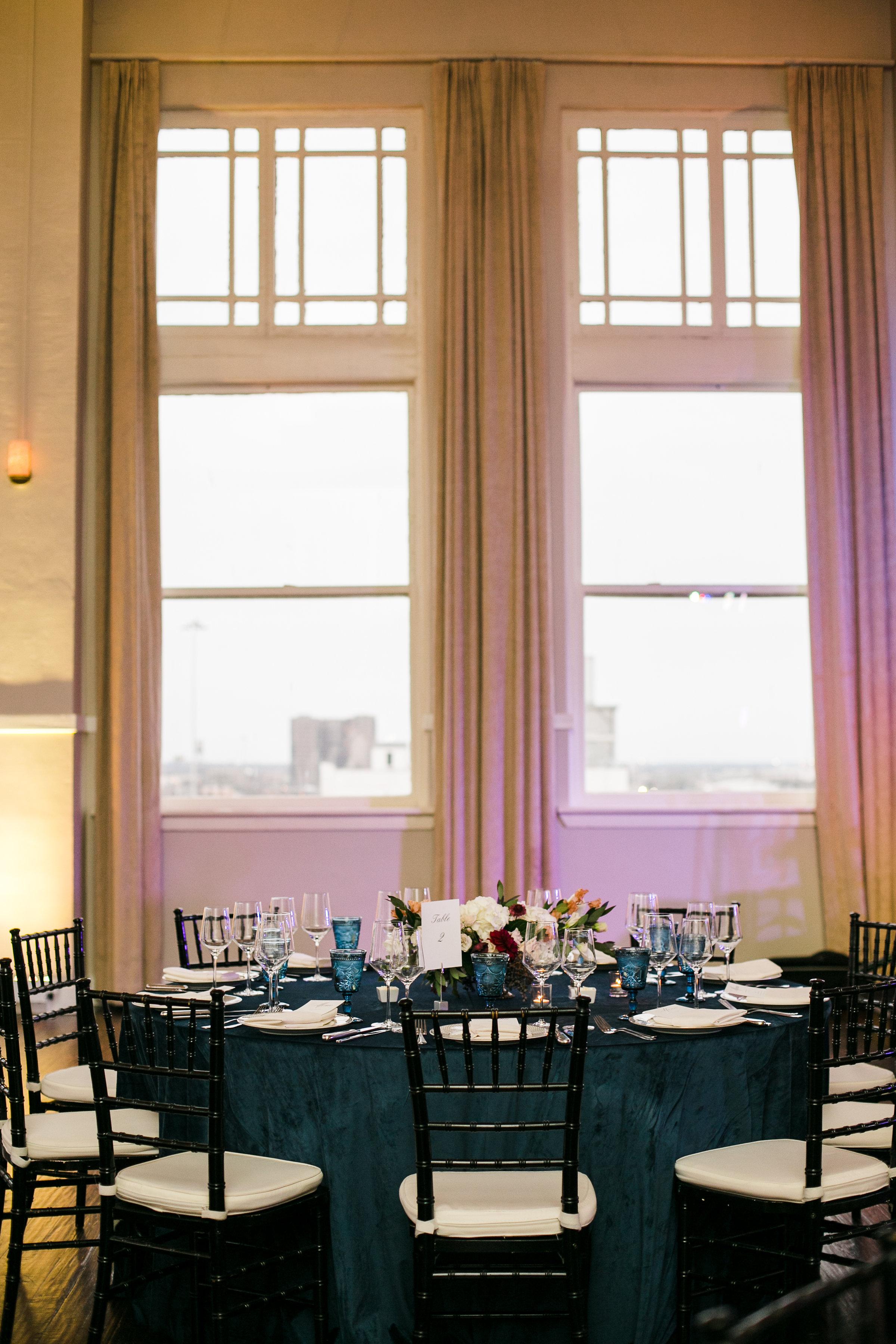 Reception Details - Dallas, Texas - Winter Wedding - Julian Leaver Events