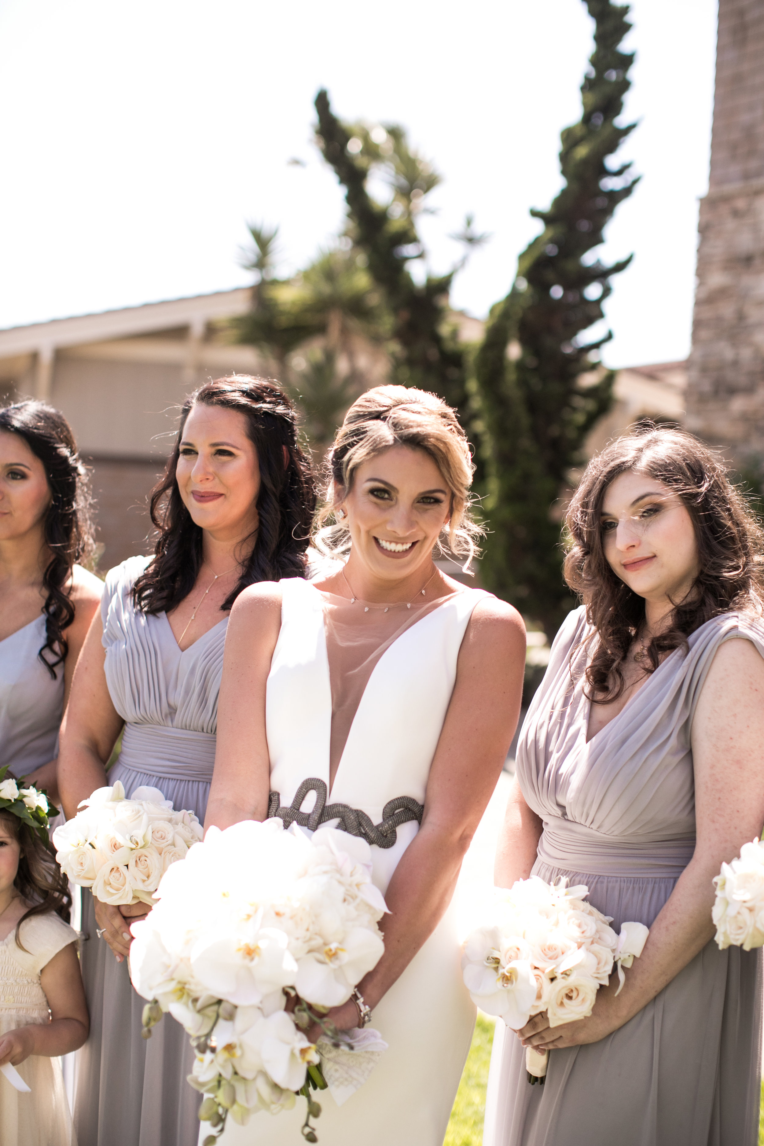 Bridesmaids Details - Laguna Beach, California - Summer Wedding - Julian Leaver Events